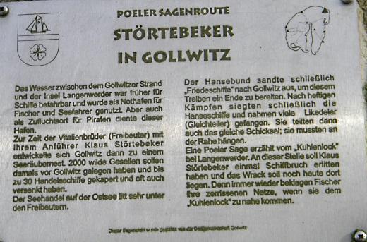 Stoertebeker in Gollwitz
